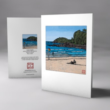 manly beach card