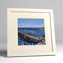 narrabeen pools framed print