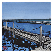 narrabeen pools archival print