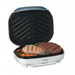 CONTINENTAL ELECTRIC Contact Grill, White - CE23791