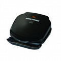 GEORGE FOREMAN 2-Serving 36 Sq. Inch Grill Black - GR10B