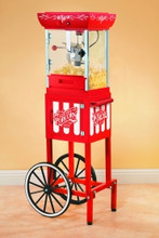 NOSTALGIA 48 Inch Old Fashioned Popcorn Cart - CCP399