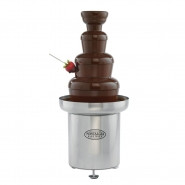 NOSTALGIA Commercial Stainless Steel Chocolate Fondue Fountain - CFF-552