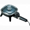 BRENTWOOD 6 Inch Electric Skillet with Glass Lid - SK45