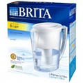 BRITA Slim Water Filter Pitcher, Clear/White - OB11/42629