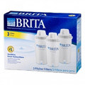 BRITA Pitcher Replacement Cartridges 3 Pack - 35501