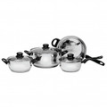RAGALTA 7pc Stainless Steel Cookware Set - RCW-017