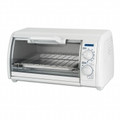 BLACK & DECKER 4 Slice Toaster Oven White - TRO420