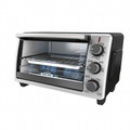 BLACK & DECKER 6-Slice Convection Oven Stainless Steel & Metallic Accents - TO1950SBD