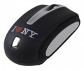I LOVE NY WM402 Traveling Notebook Mouse - Black - WM402K