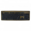 IMPECCA KBB103 Bamboo Designer Keyboard Walnut Color - KBB103