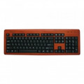 IMPECCA KBB105 Bamboo Designer Keyboard Cherry Color - KBB105