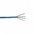 STRUCTURED CABLES CAT5E 350MHz 24 AWG Solid 4PR UTP PVC JKT- Blue- 1000 FT Box - CAT5E-BL