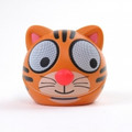 ZOO-TUNES Terry-the-Tiger Compact Portable Character Stereo Speaker - MCS05