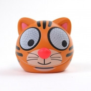 ZOO-TUNES Compact Portable Bluetooth Stereo Speaker, Tiger - MCS05BT