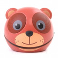 ZOO-TUNES Compact Portable Bluetooth Stereo Speaker, Teddy Bear - MCS01BT