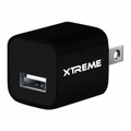 XTREME 1000mAh 110220V USB Home Charger Black - 81102