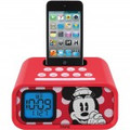E-KIDS Minnie Dual Alarm Clock Speaker System for iPod/iPhone - DM-H22