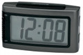 IMPECCA Battery Alarm Clock with Snooze - Grey - WAD15G