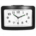 IMPECCA Bell Alarm Clock with Snooze and Light Black - WAA35NK