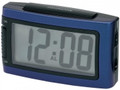 IMPECCA Battery Alarm Clock with Snooze - Blue - WAD15B
