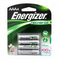 ENERGIZER e2 Rechargeable AAA-4 NiMH 1.2v Batteries 850mAh - NH12BP-4