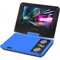 IMPECCA 7 Inch Swivel Portable DVD Player Blue - DVP775B