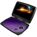 IMPECCA 9 Inch Swivel Portable DVD Player Purple - DVP916PU