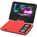 IMPECCA 7 Inch Swivel Portable DVD Player Red - DVP775R