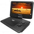 SYLVANIA 9-inch TFT Portable DVD Player with Swivel Screen with 5 Hour Built-in Rechargeable Battery - SDVD9109