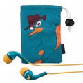 E-KIDS Noise Isolating Earphones, Phineas and Ferb - DF-M15