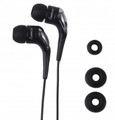 IMPECCA EB101 Light Weight Stereo Earphones - Black - EB101K