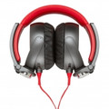 SONY X-Series Over-the-Ear Headphones with Mic and Remote - RedBlack - MDR-X05/BC