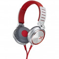 SONY X-Series Over-the-Ear Headphones with Mic and Remote - RedSilver - MDR-X05/SC
