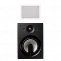 JAMO 60W 2-Way In-Wall Speaker White Paintable Pair - IW406