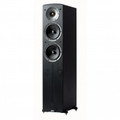 JAMO 140W Front Floorstanding Tower Speaker Black Ash - C605BLK