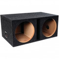 ATREND Dual 12-Inch B Box Series Vented Enclosure With Shared Chamber - E12DSV