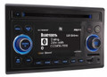 DUAL 2.0 DIN Multi-Format CD Receiver with Full Graphic LCD and Built-in Bluetooth - X2DAM500