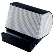 CRAIG Portable Stereo Speaker with Built-in Stand - Black - CMA3546BK