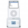 ILUV FM Transmitter with Integrated Car Adapter for iPod - I707WHT