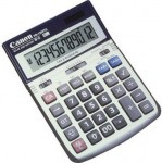 CANON HS1200TS 12-Digit Portable Desktop Calculator - 7438A023