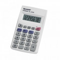 SHARP EL-233SB Compact Handheld Calculator with Large 8-Digit Display - EL-233SB
