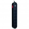 ACOUSTIC RESEARCH 6 Outlet Strip 900-Joules Surge Protector with Child Safety Covers - ARHTS6