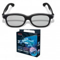 TOSHIBA Black Natural Passive 3D Glasses Party Pack (10 Pair) - FPTP100UP