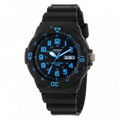CASIO Classic 100-Meter Water Resistant Diver-look Watch - MRW-200H-2B