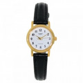CASIO 3-Hand Analog Quartz Ladies Watch with Genuine Leather Band - LTP1095Q-7B