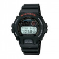 CASIO DW6900-1V G-Shock Classic Watch 200M Water Resistant EL Backlight with Afterglow - DW6900-1V
