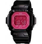 CASIO BG5601 Baby-G 100M Water Resistant, World Time, 5 Daily Alarms (1 with snooze) - BG5601-1