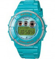 CASIO BGD121-2 Baby-G Round 200M Water Resistant World Time 5 Daily Alarms, 1 w/Snooze - BGD121-2
