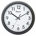 IMPECCA 12 Inch Quiet Movement Wall Clock - Grey - WCW12M1GY
